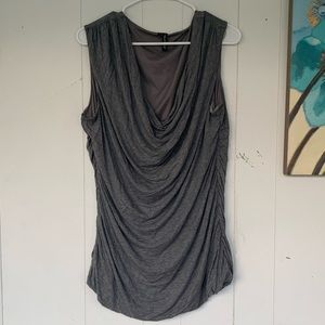 Maurices Ruched Cowl Neck Tank